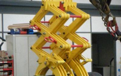 Pince 1T800 automatique pour cylindre carbone
