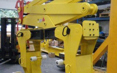 Pince 2T500 à rotation pour échangeur