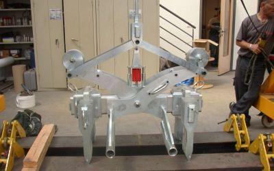 Pince 2T700 automatique pour bloc carbone